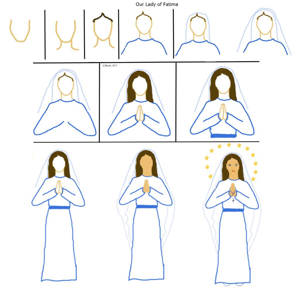 1008x993 Our Lady Of Fatima Art Class Ideas