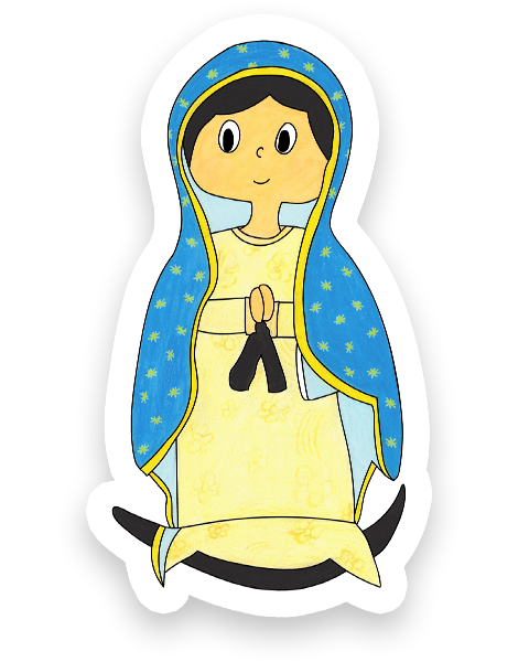 Our Lady Of Guadalupe Clipart