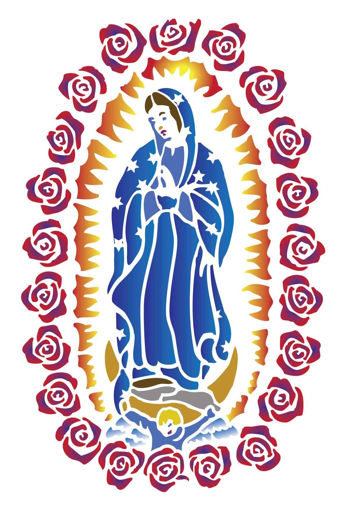 1200x1771 Id Instant Download Our Lady Of Guadalupe