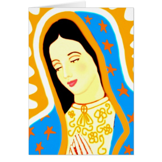 540x540 Our Lady Of Guadalupe Card