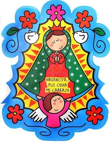 372x480 Pin By Eliana Quevedo On Virgen Y Cruces De Guadalupe