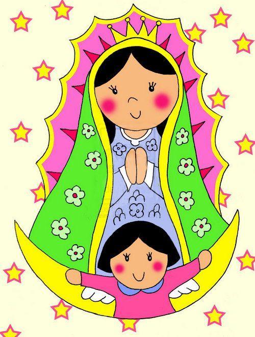 500x660 Ver Fotos De La Virgen De Guadalupe En Caricatura 4