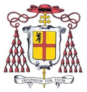 286x300 Cardinal Burke Coat Of Arms I Small Shrine Of Our Lady Of Guadalupe