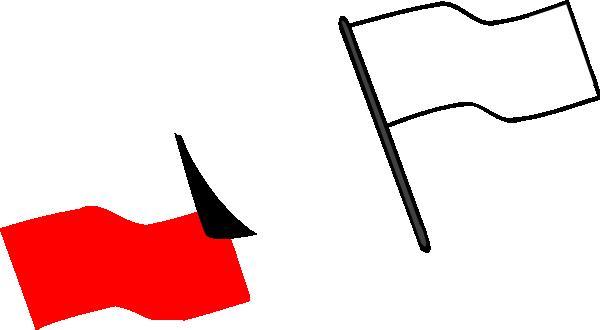 600x330 Flag Outline Clip Art