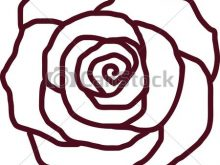 220x165 Rose Outline Clipart Free Rose Outline Download Free Clip Art Free