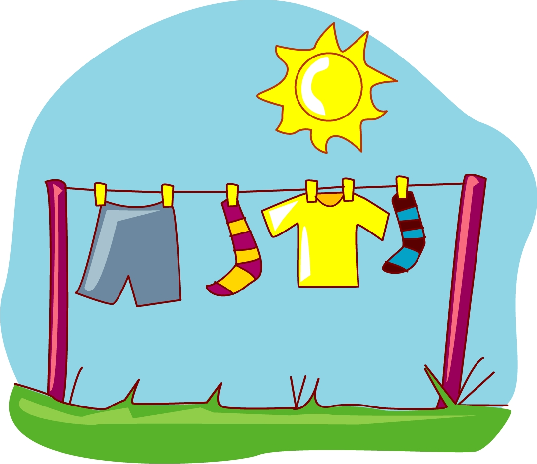 1083x936 Laundry Drying Outside Clip Art Cliparts