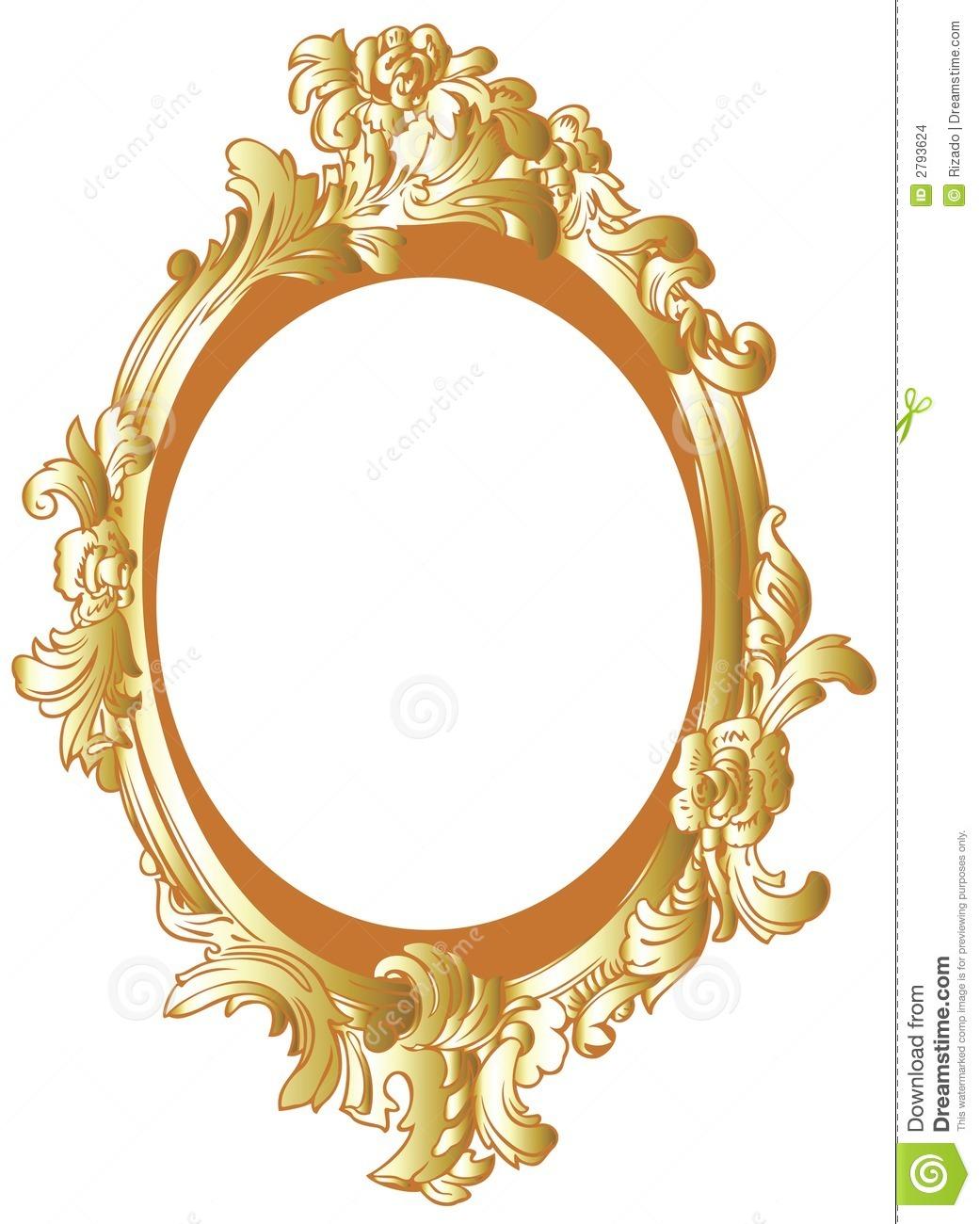 1041x1300 Gold Oval Frame Clipart Amp Gold Oval Frame Clip Art Images