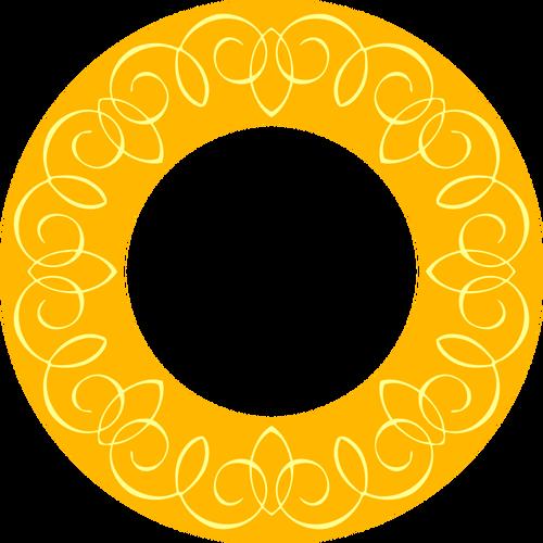 500x500 3991 Flower Clip Art Images Oval Frame Public Domain Vectors