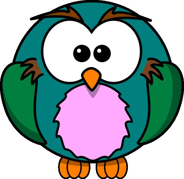 600x585 Cute Owl Cartoon Clip Art Clipart Panda