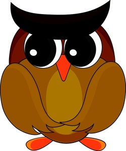 250x300 Owl Clipart Image