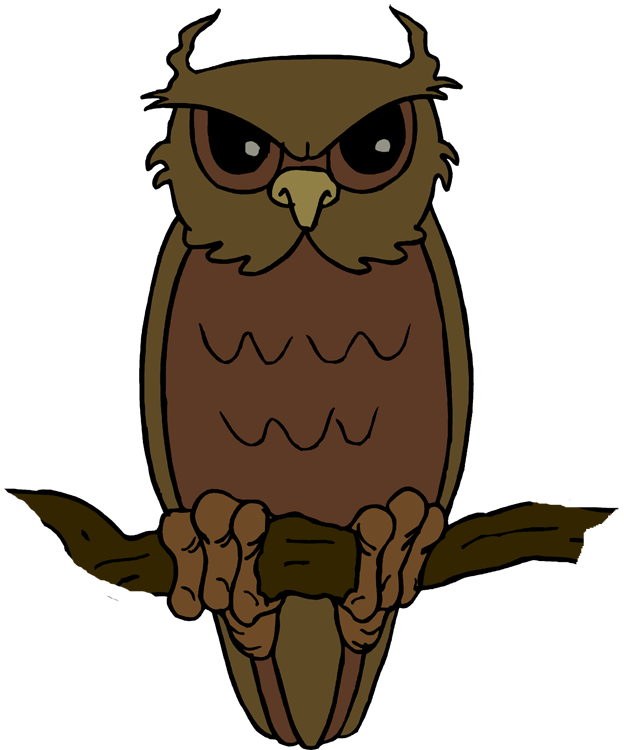 624x750 Image Of Flying Owl Clipart
