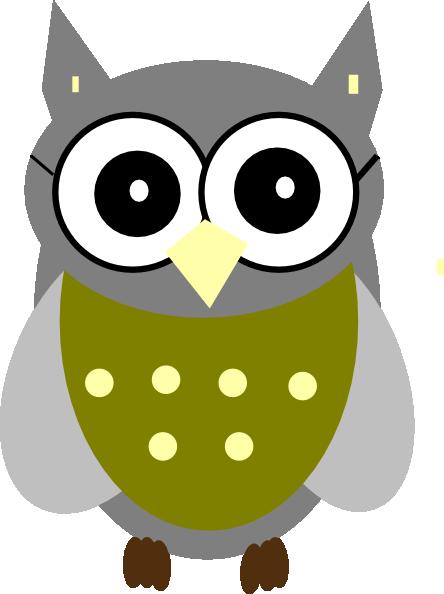 444x594 Owl Clip Art