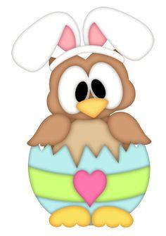 236x336 Easter Owl Clip Art Owl Clipart Bunny 3