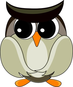 250x300 Free Gray Owl Clipart Image 0515 1005 1302 0719