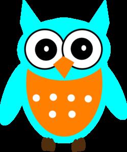 249x298 Blue Owl Clip Art