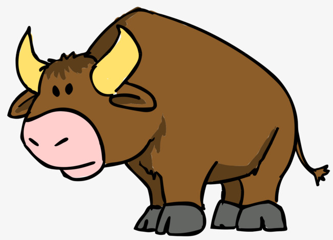 650x469 Cartoon Cattle, Cartoon, Cattle, Ox Horn Png Image And Clipart