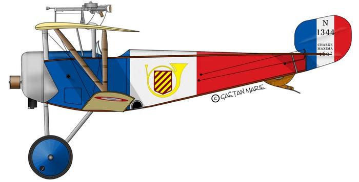 700x356 Nieuport 11 Marie's Aviation Profiles