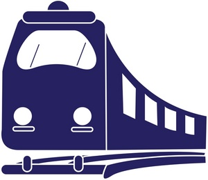 300x261 Subway Clipart Passenger Train Free Collection Download