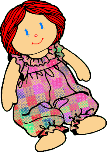 352x500 Photos Free Doll Clip Art,