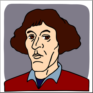 304x304 Clip Art Science Copernicus Color I Abcteach