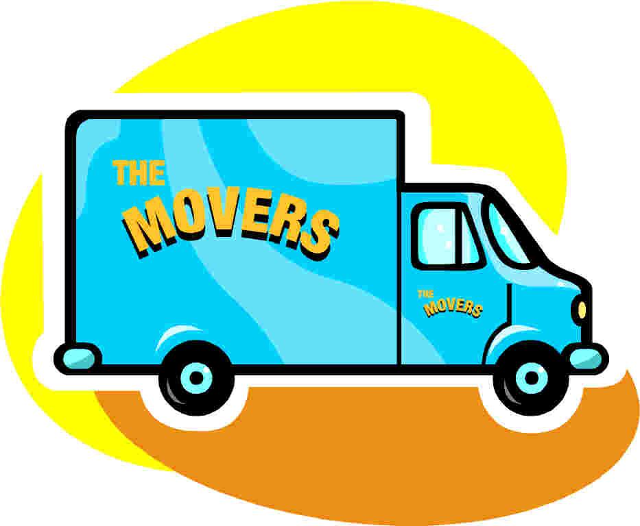 933x768 Moving Clip Art 8