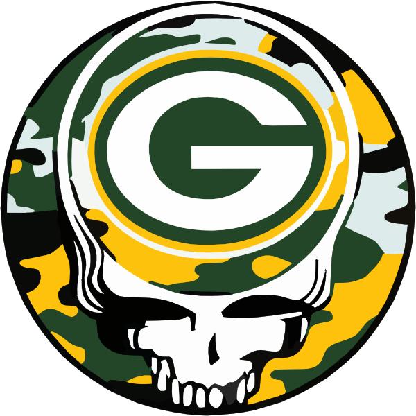 600x600 Grateful Dead Packers Clip Art
