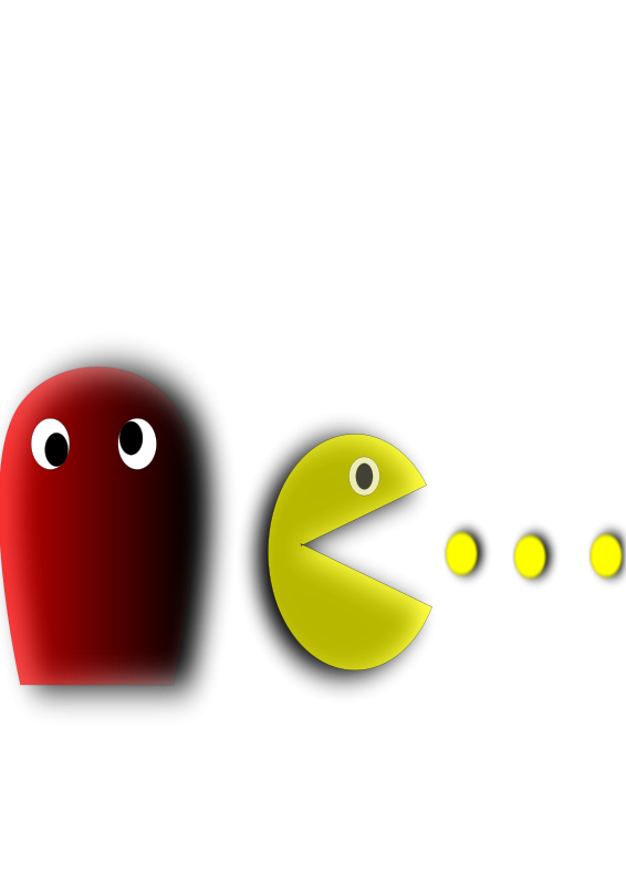 566x800 Pacman Ghost Clip Art Download