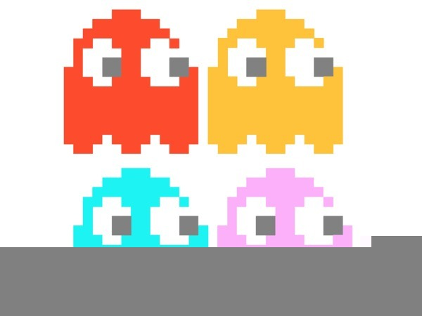 600x450 Pacman Ghost Clipart Free Images