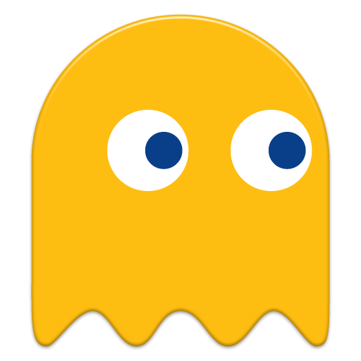 512x512 Pacman Yellow Ghost Transparent Png