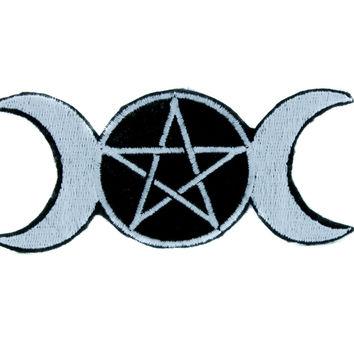 354x354 Pagan Clipart Triple Moon