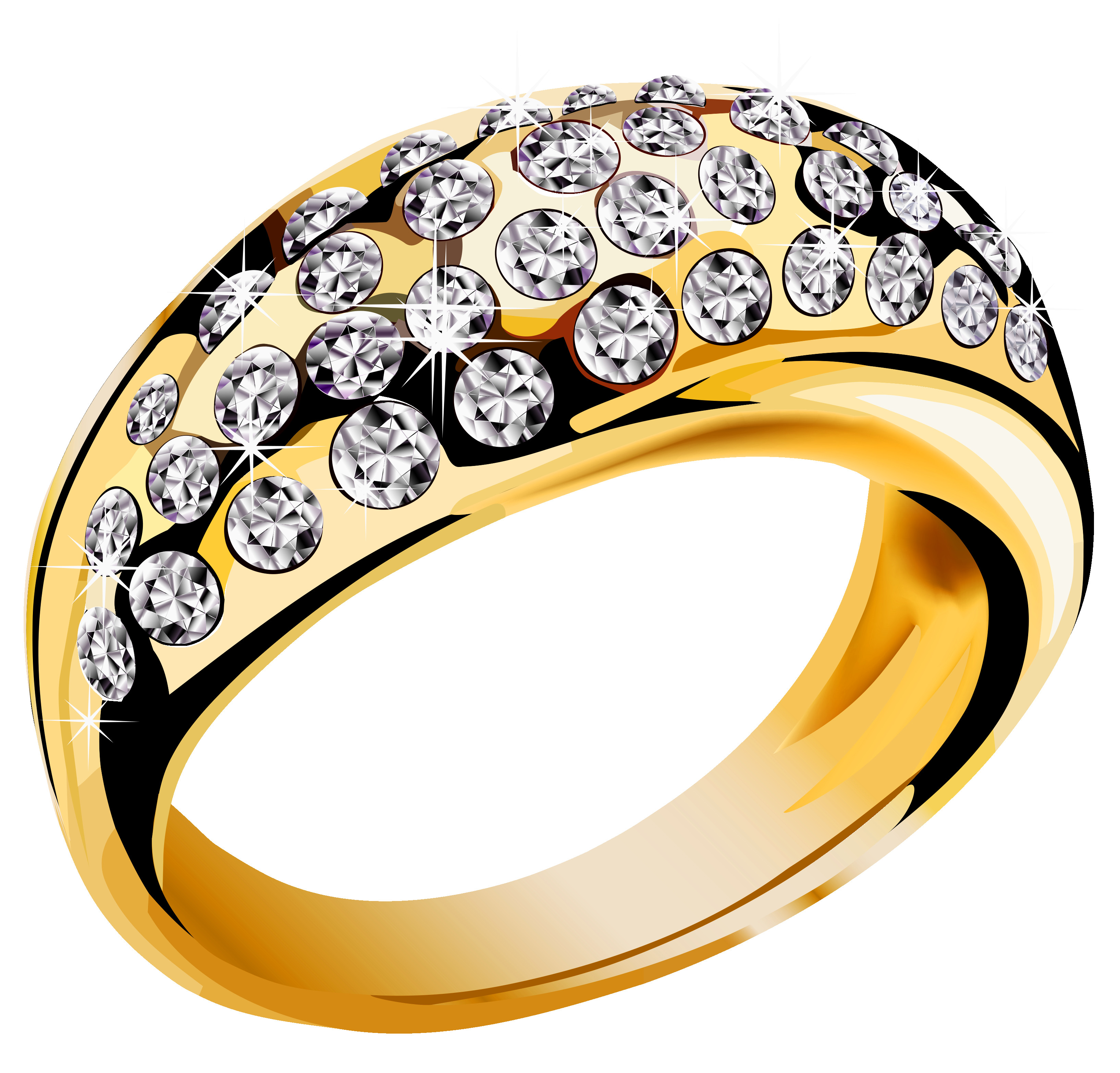 3269x3132 Wedding Rings Gold Png Clip Art Best Web Clipart Endear Ring Png