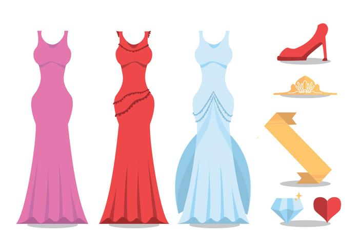 700x490 Pageant Vector Set