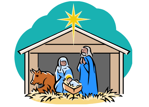 498x357 Nativity Scene Clip Art 2nd Annual Children's Christmas Musical