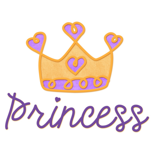500x500 Princess Crown Clipart Vector
