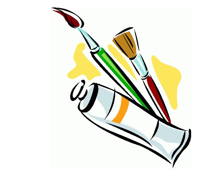 740x603 Download Paint Brush Clip Art Vector Free