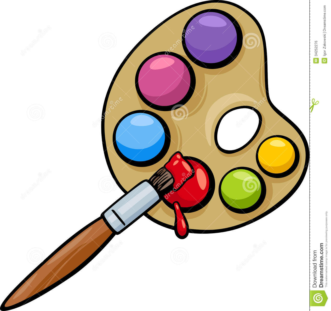 Paint Palette Clipart At Getdrawings Com Free For Personal Use Rh Painters Pallet