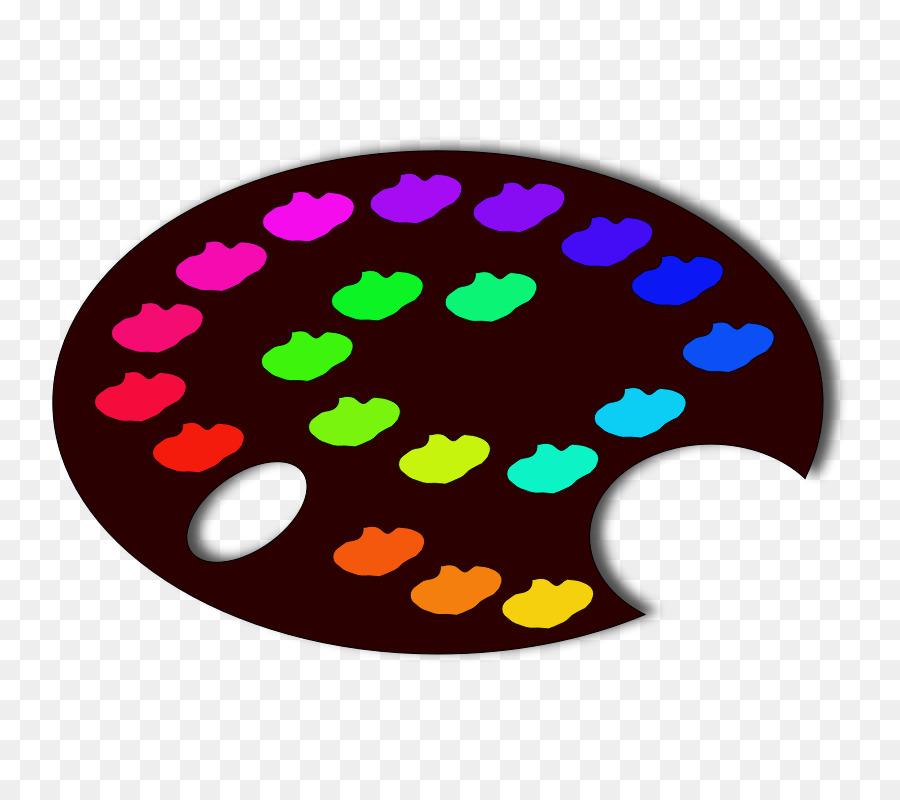900x800 Color Scheme Palette Clip Art