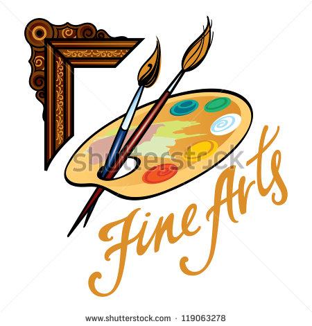 450x470 Fine Arts Clipart