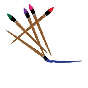 300x300 Paint Brush Clip Art