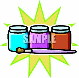 300x297 Paint Jar Clipart Amp Paint Jar Clip Art Images