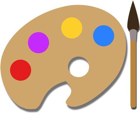 474x474 Painting Palette Template ClipArt Best Paint Pallet Clip Art