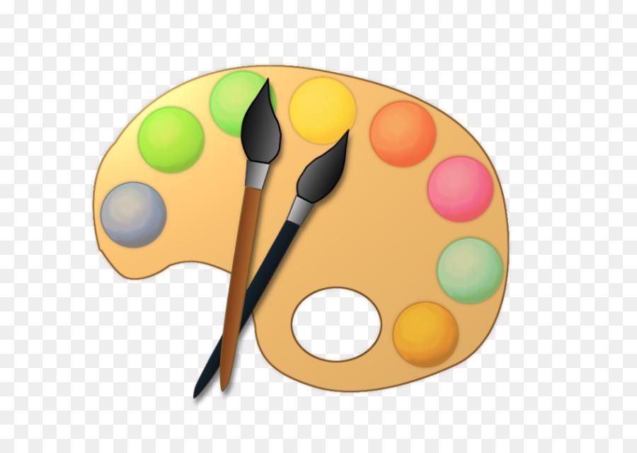 900x640 Palette Painting Artist Clip Art