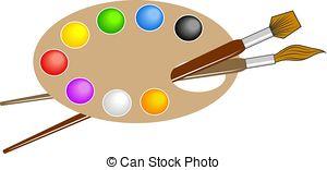 300x156 Artist Palette Clipart