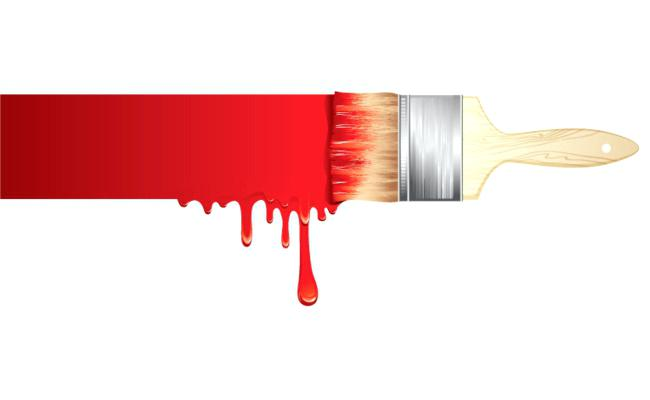 650x400 Paint Brush Free Clip Art Black And White Paintbrush Drawing