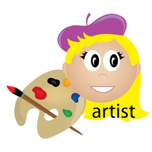 300x300 Free Artist Clipart Image 0515 1001 0920 4625 Computer Clipart