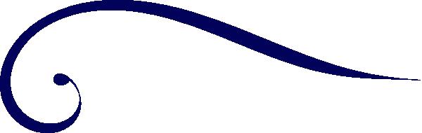 600x190 Design Clipart Navy Blue