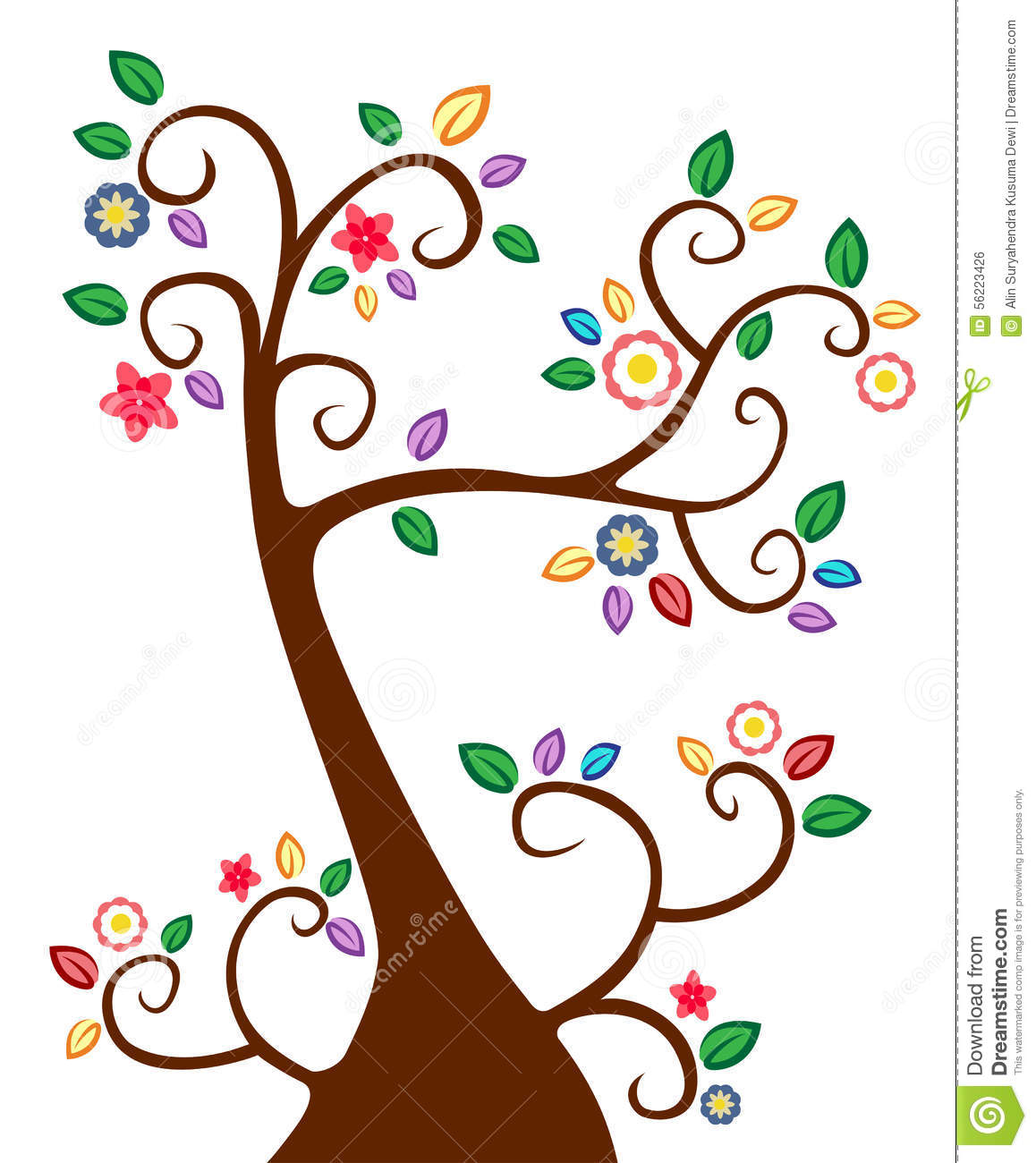 1158x1300 Pattern Clipart Colourful Tree