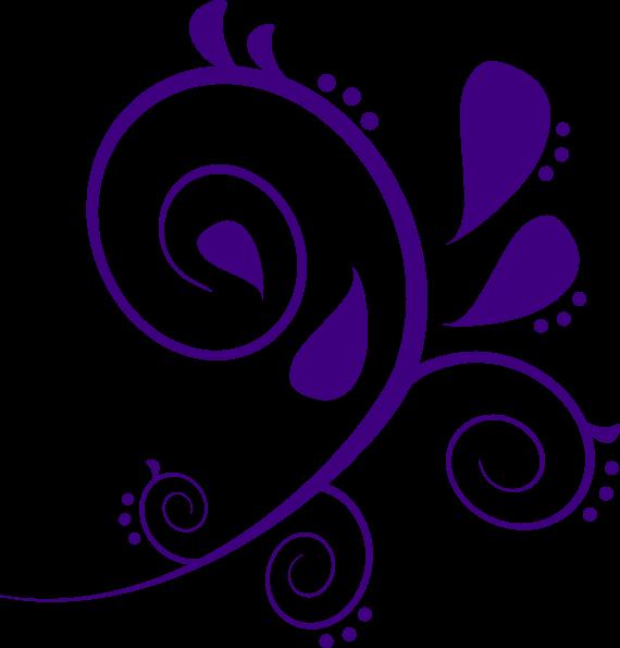 570x595 Purple Pattern Cliparts