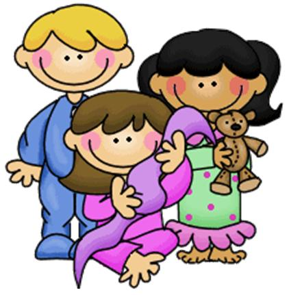 422x431 Collection Of Kids In Pajamas Clipart High Quality, Free