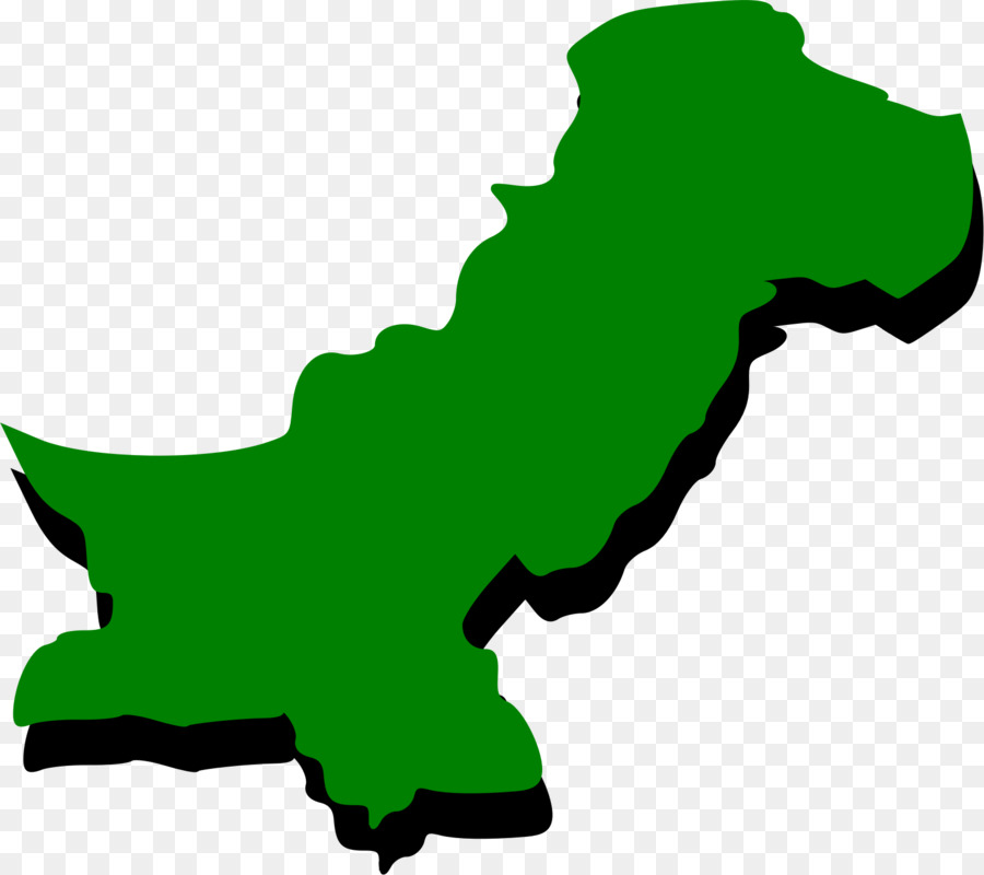 900x800 Flag Of Pakistan Map Clip Art
